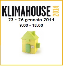 Klimahouse Bolzano from 23 to 26 January 2014