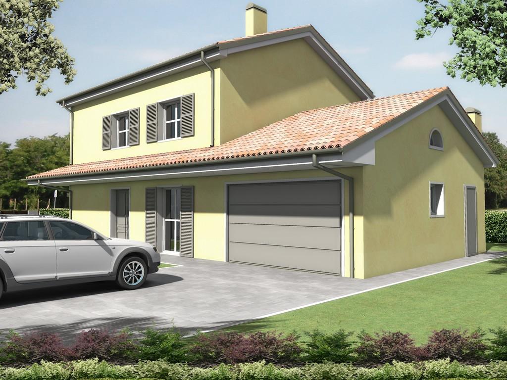 Villa Brancolini – Monofamiliare, Mirandola