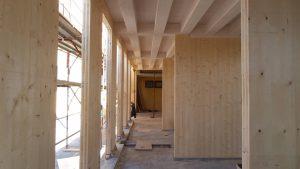 ampliamento in legno prefabbricato ecosostenibile bioedilizia casa per anziani