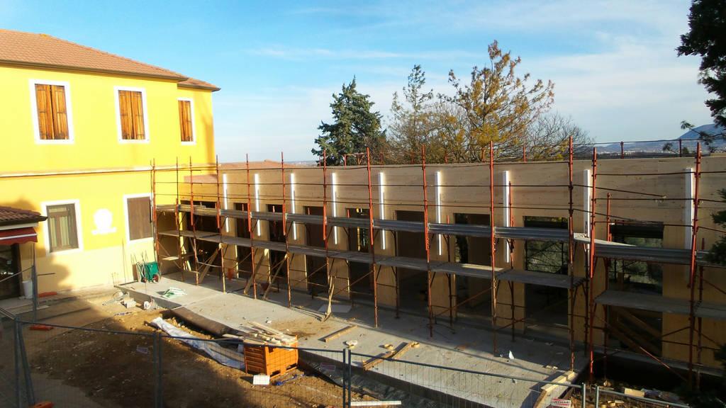 Ampliamento casa di riposo opera pia barbarano vicentino vicenza sistem costruzioni - Ampliamento casa in legno ...