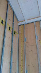 villa in legno xlam alto isolamento acustico e termico bologna