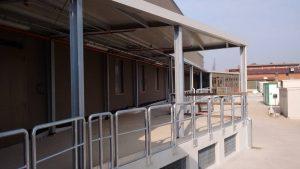 Ipercop Alleanza 3.0 Formigine solaio e copertura lamellare solar tube e pannelli solari