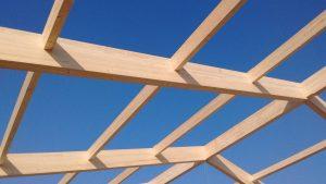 Copertura prefabbricata in legno capannone industriale multibox bioedilizia sostenibile