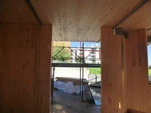 Edificio legno prefabbricato ecosostenibile xlam latina sistem costruzioni