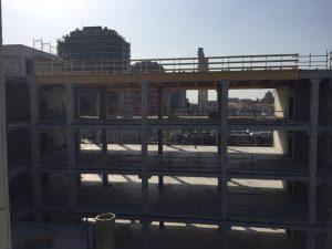 Copertura-legno-lamellare-Hera-Bologna edificio ecosostenibile