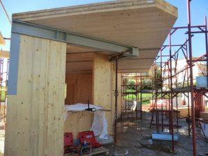 Edificio multipiano legno prefabbricato ecosostenibile xlam latina sistem costruzioni