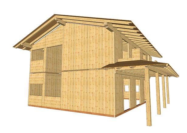 Progettazione Casa In Legno : Come progettare una casa in legno sistem costruzioni