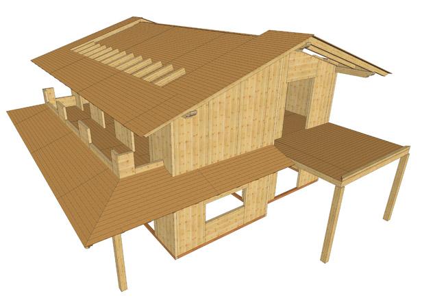 come progettare una casa in legno sistem costruzioni