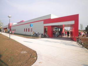 Conad Supermercato legno bioedilizia Medicina Bologna Sisitem Costruzioni