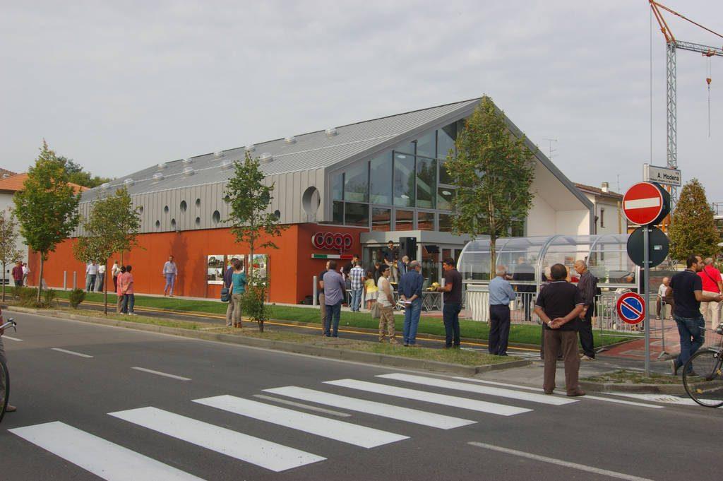 Supermercado Coop Estense – Rovereto (Módena)