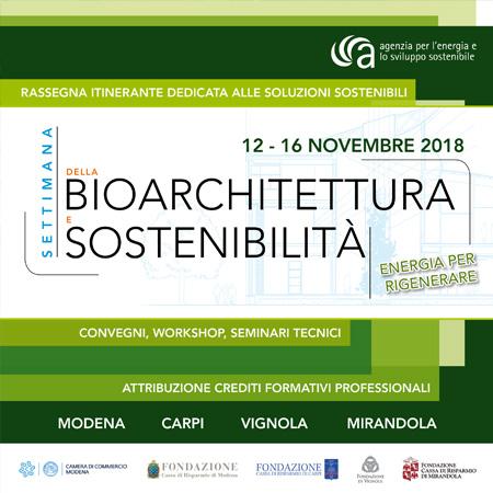 Settimana della Bioarchitettura e Sostenibilità